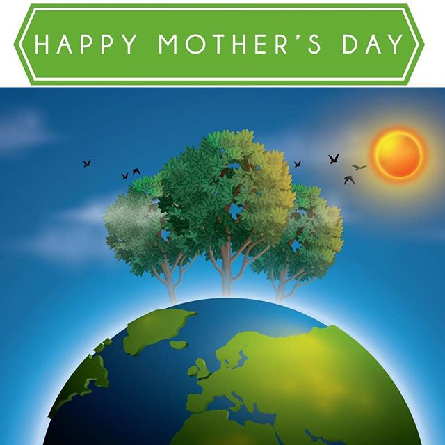 Happy Mother's Day! * * * * * #happymothersday #happymomsday #begoodtomotherearth #thereisnoplanetb #motherearth #PlantsNotPlastic #YumiEcoSolutions