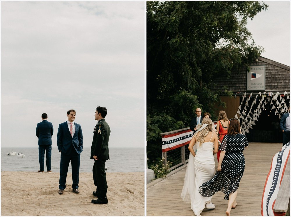 Wedding at the Chequessett Yacht & Country Club