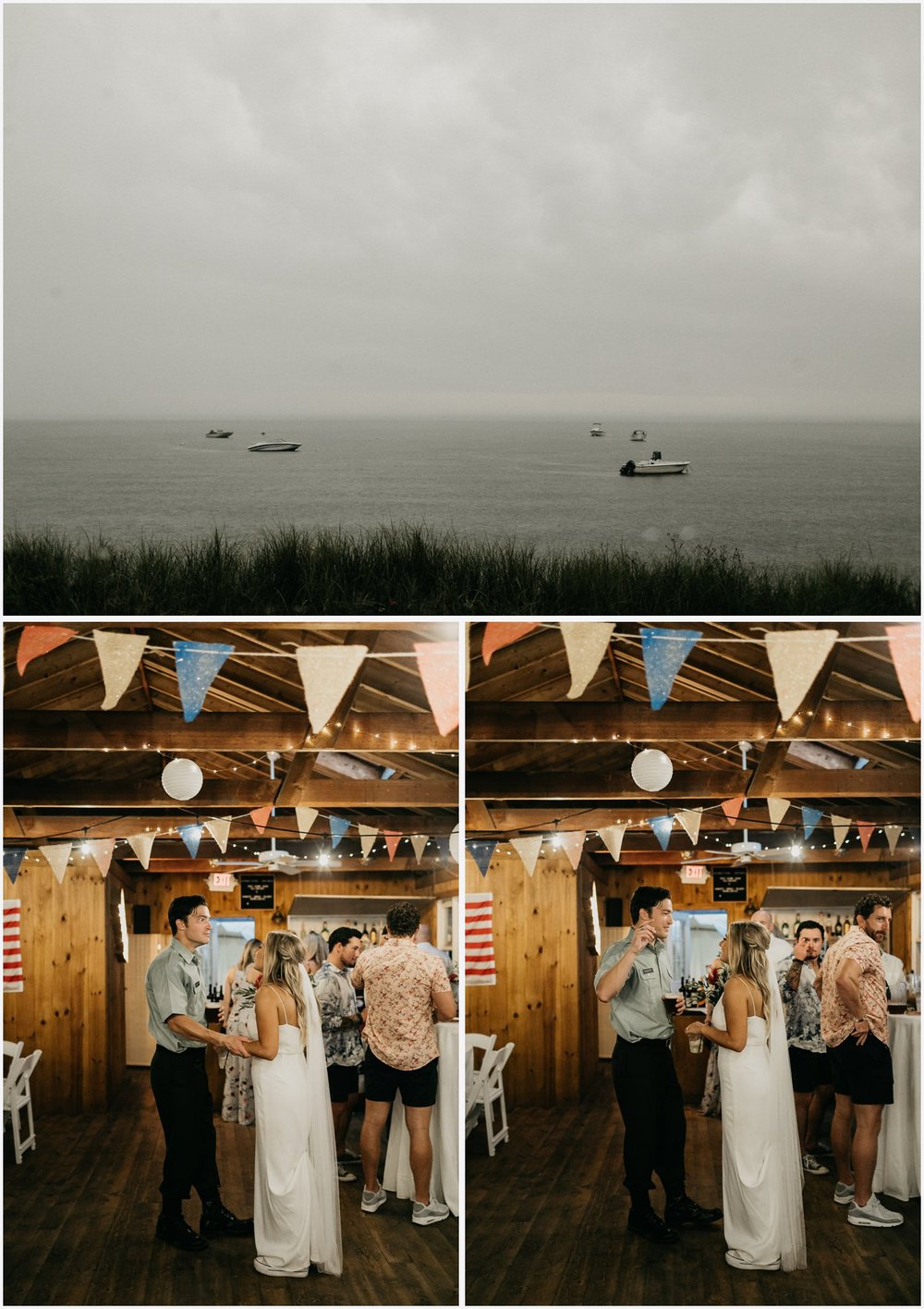 Wedding reception in the Chequessett Yacht & Country Club