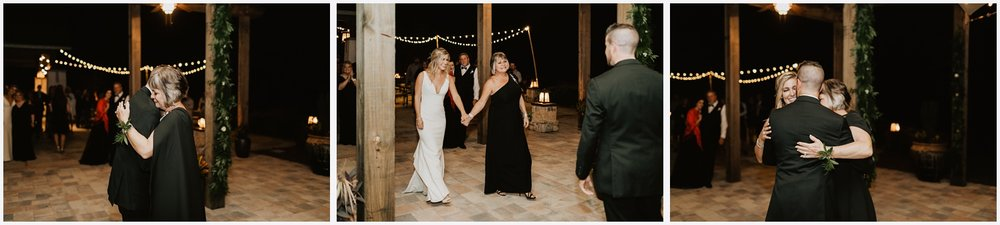 Mother and Groom dance at the Shark's Tooth Golf Club