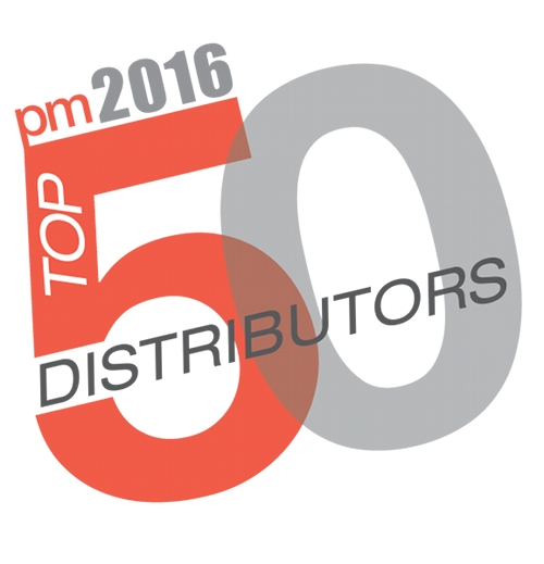 Top 50 Distributors Logo