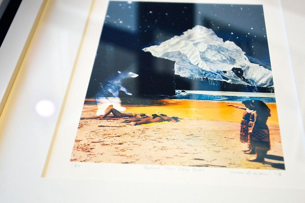 Simon Kjær - collage