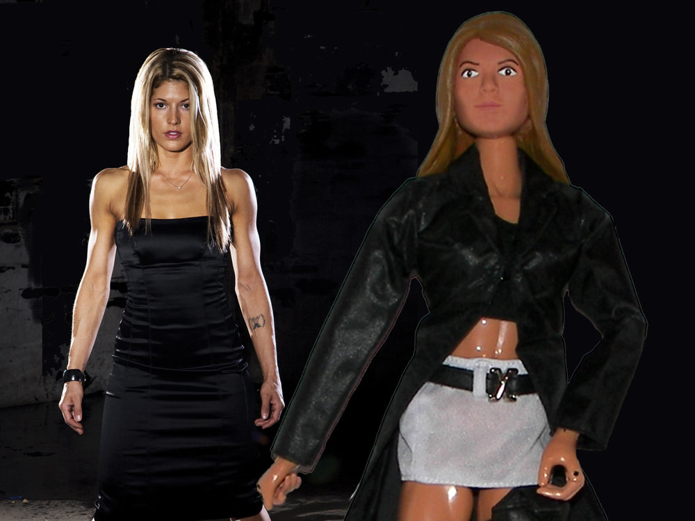 Female Custom Action Figure