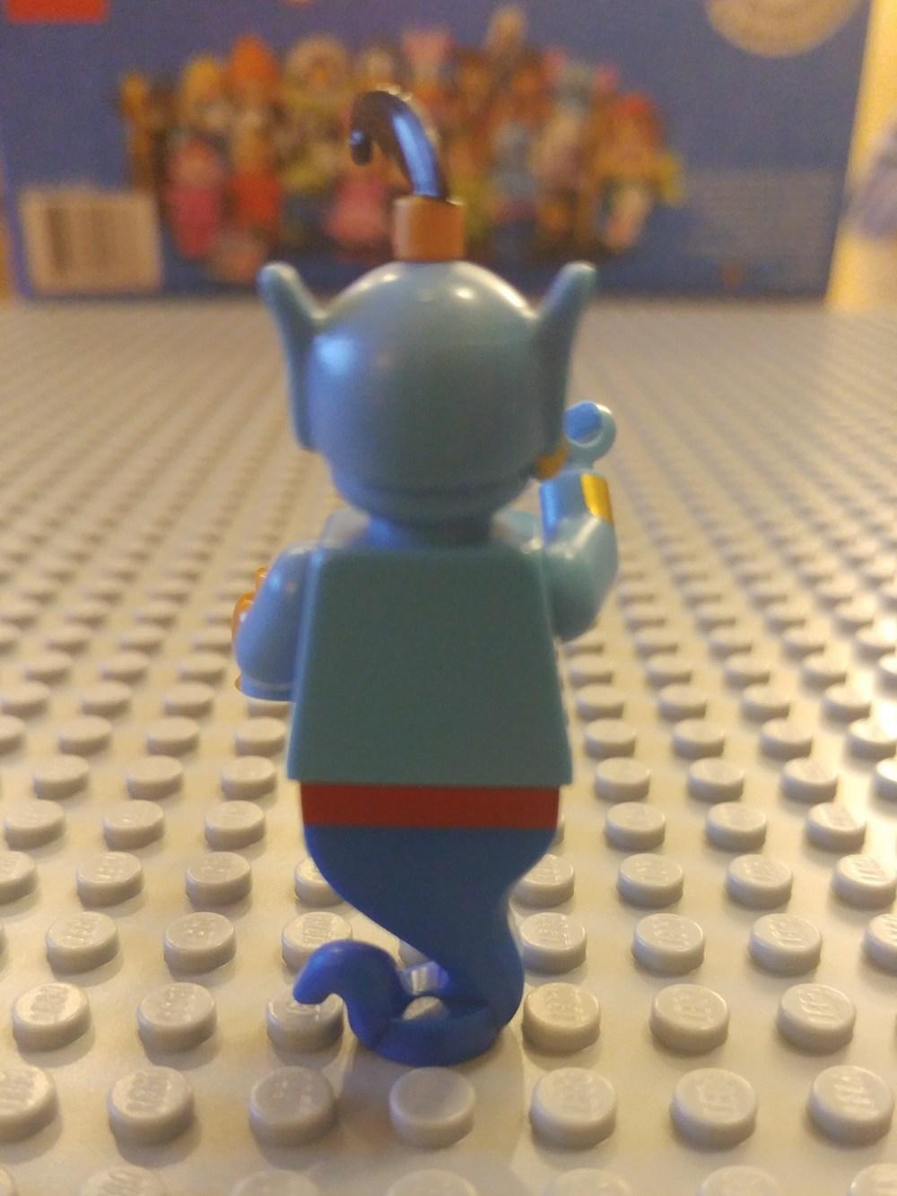 Genie Minifig Close Up - Back