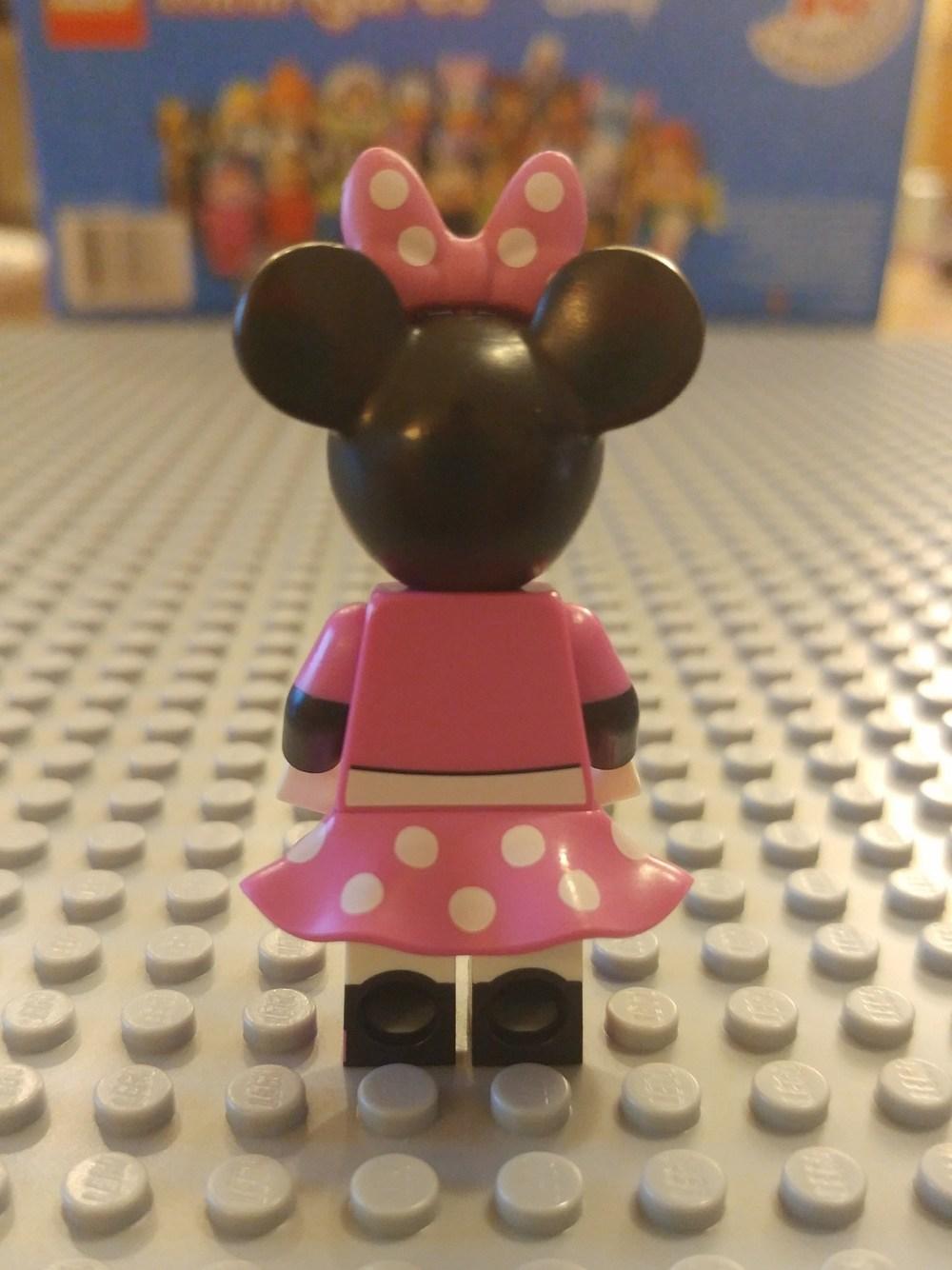 Mini Mouse Minifig Close Up - Back