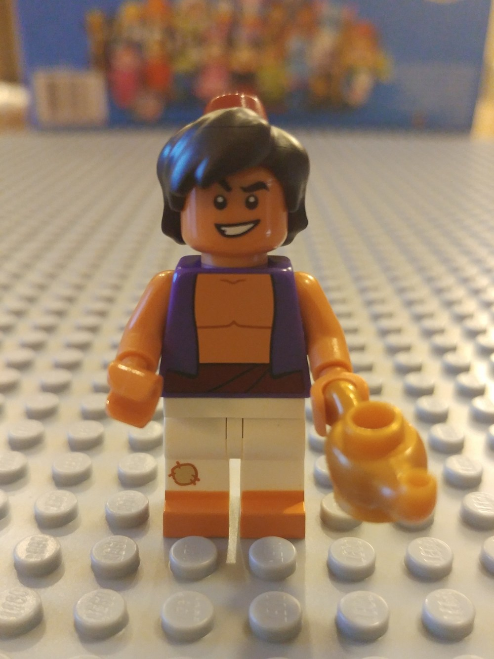 Aladdin Minifig Close Up - Front