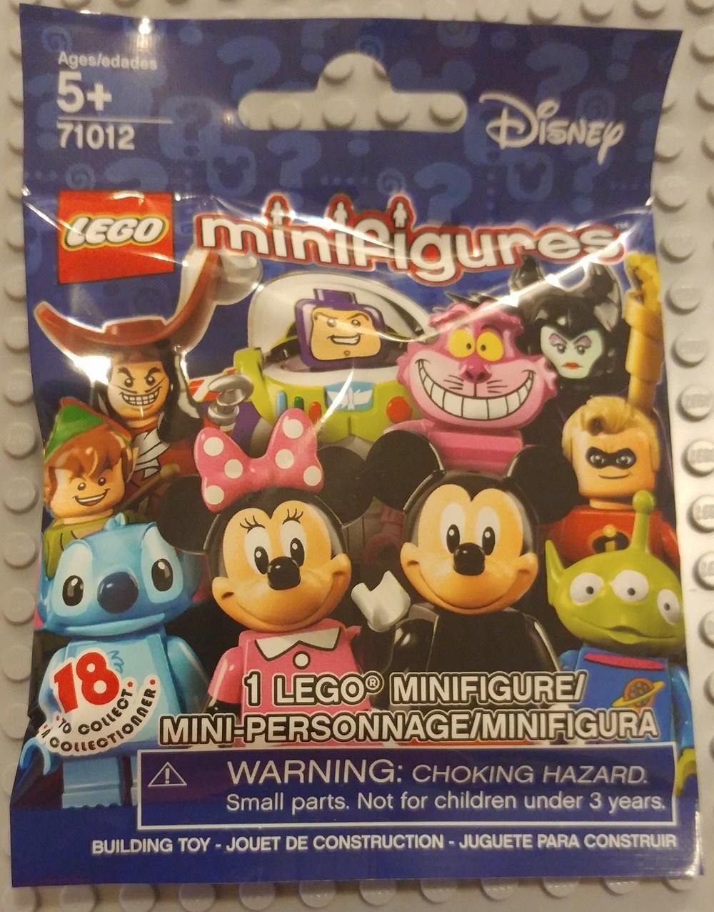 Disney Minifig Close Up - Bag Front