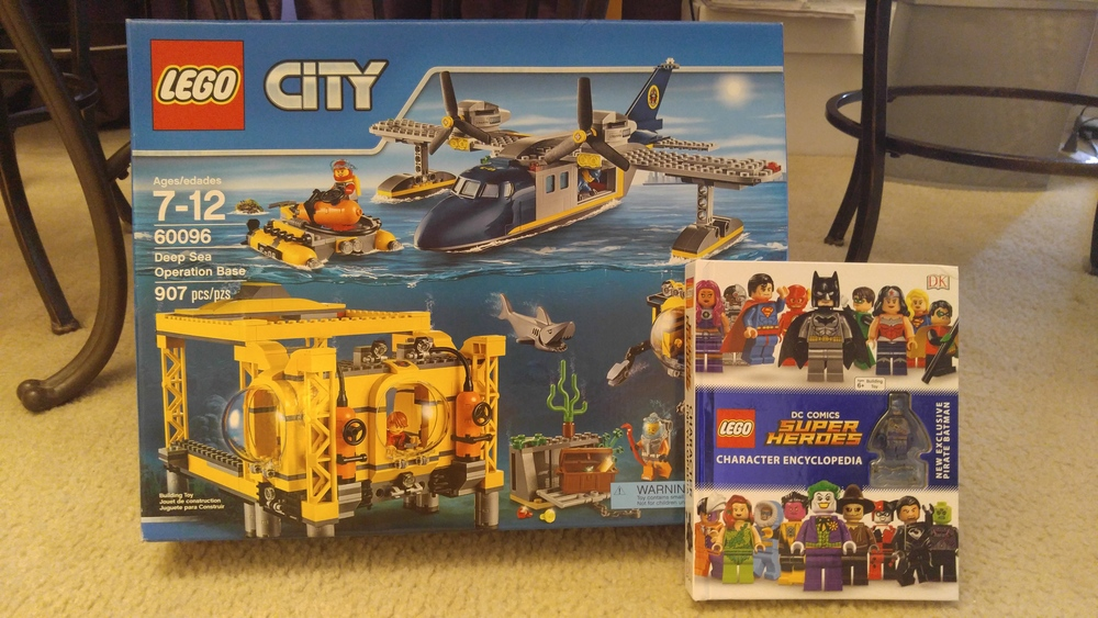 60096 Deep  Sea Operation Base 20% off With Toys R Us Coupon and New DC Comics Character Encyclopedia