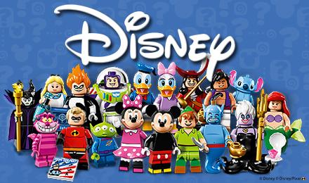 Disney Minifigure Set of 18