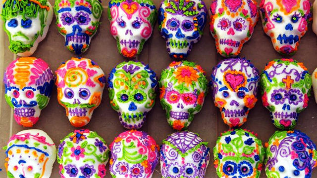 Decorate Sugar Skulls Picante