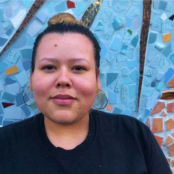 Sabrina Gomez  line cook, master trainer