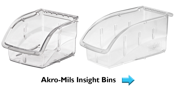 Akro-Mils Insight Bins