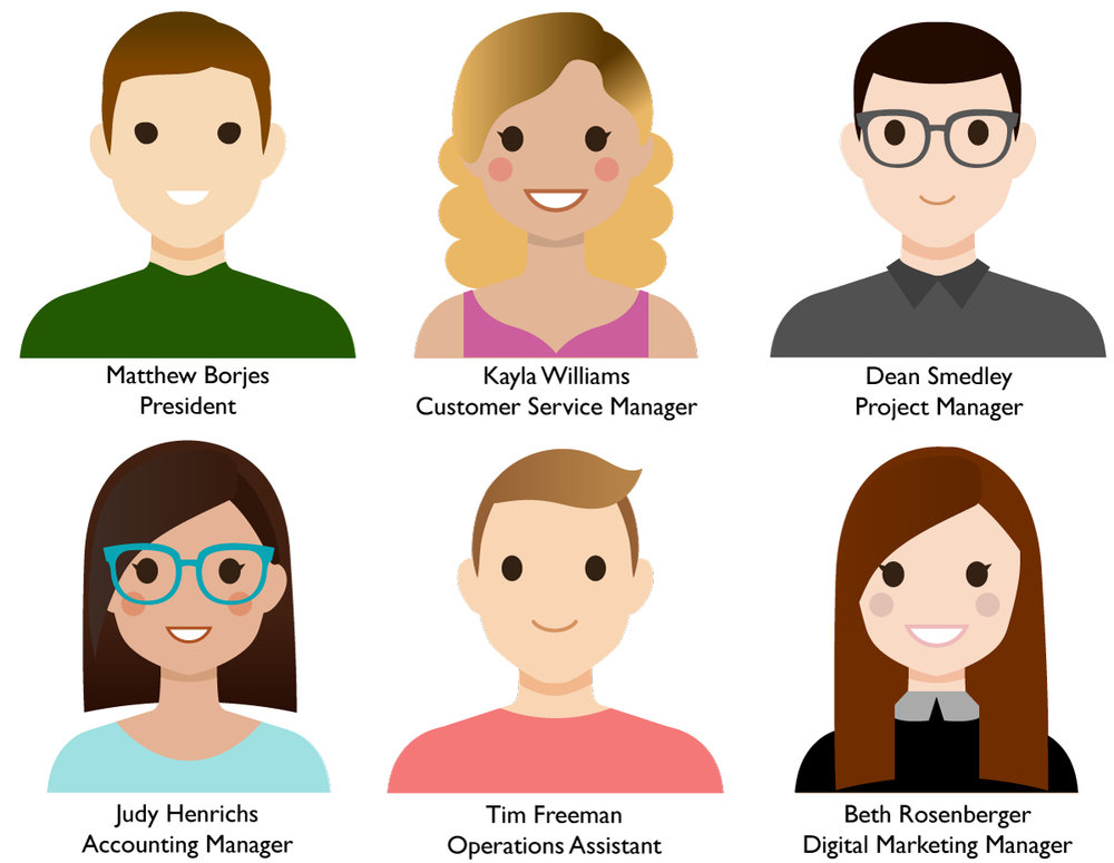 """Meet the team! - Our team is committed to providing you with the best possible service and we appreciate and value each of our customers.If you have any questions/requests, please feel free to contact us. As always we are """"Happy to Help!"""""""
