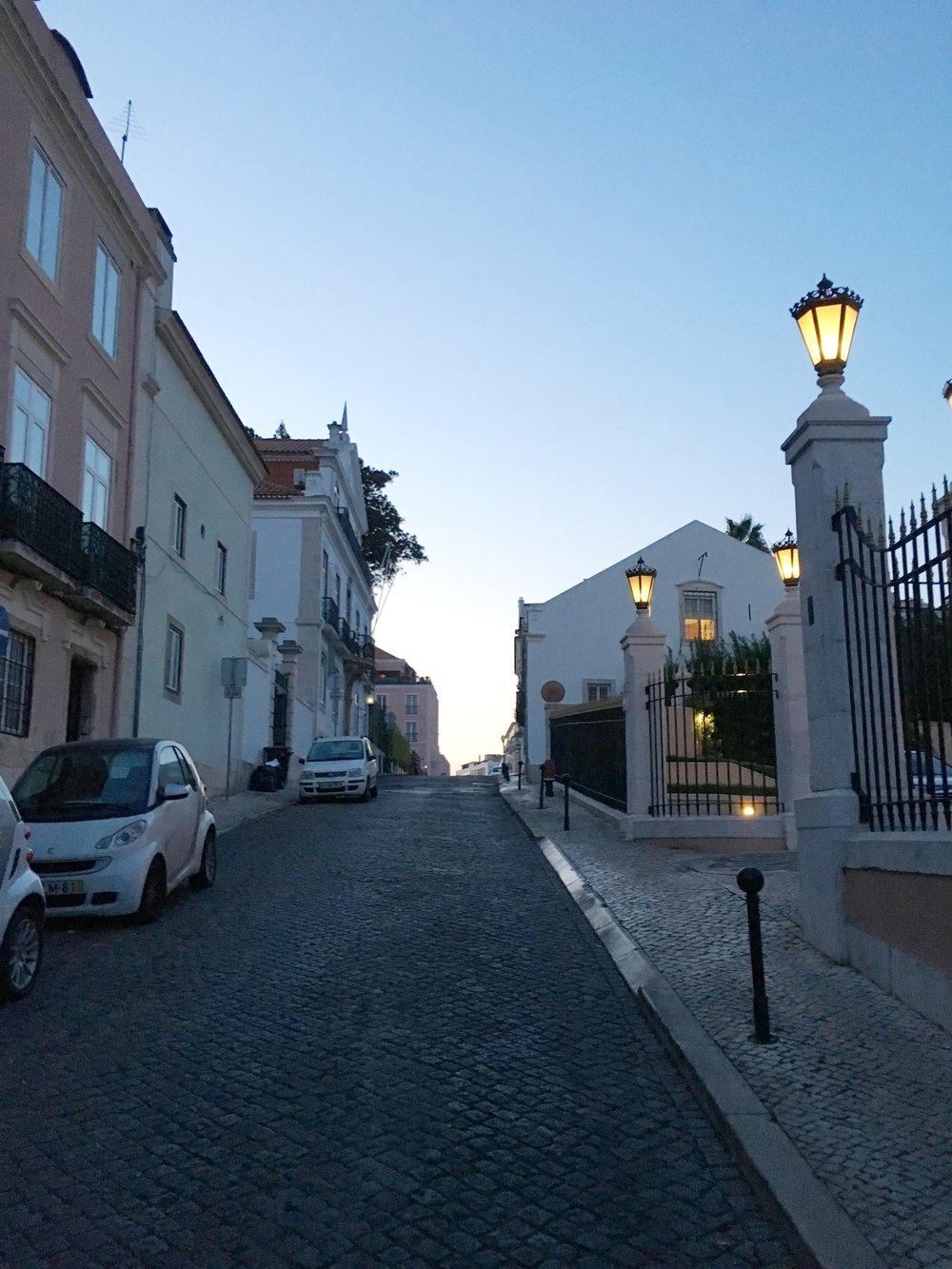 Olissippo Lapa Palace street
