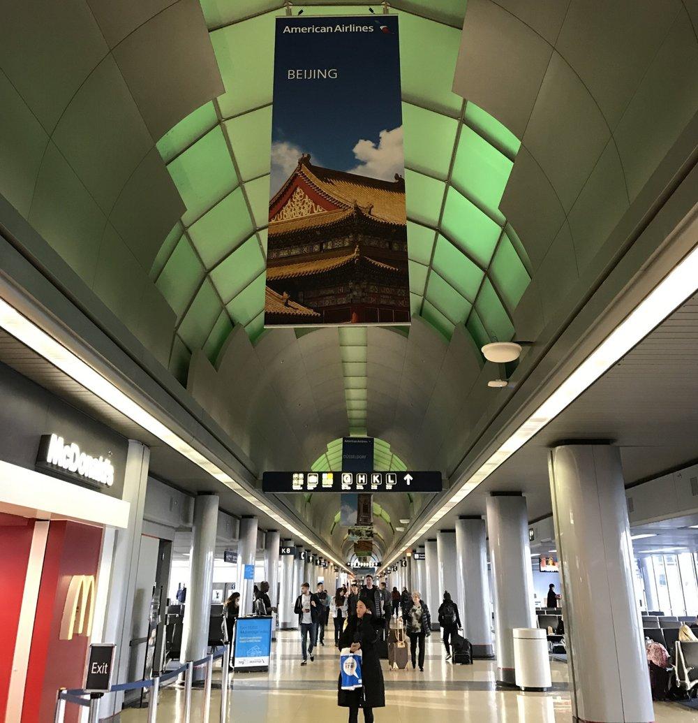 Chicago ORD terminal 3, concourse K