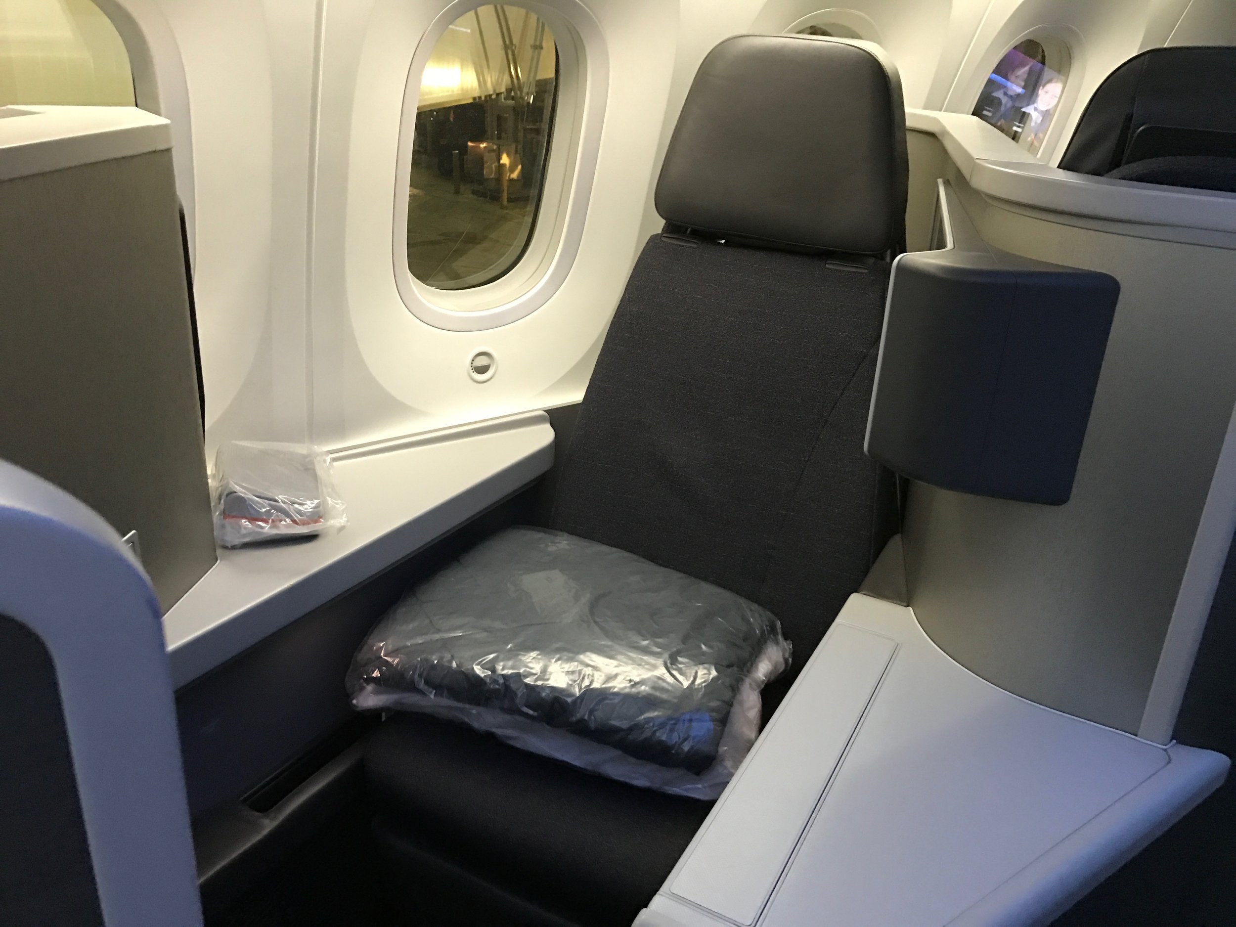 Review American Airlines Business Class 787 Dreamliner Chicago To Beijing