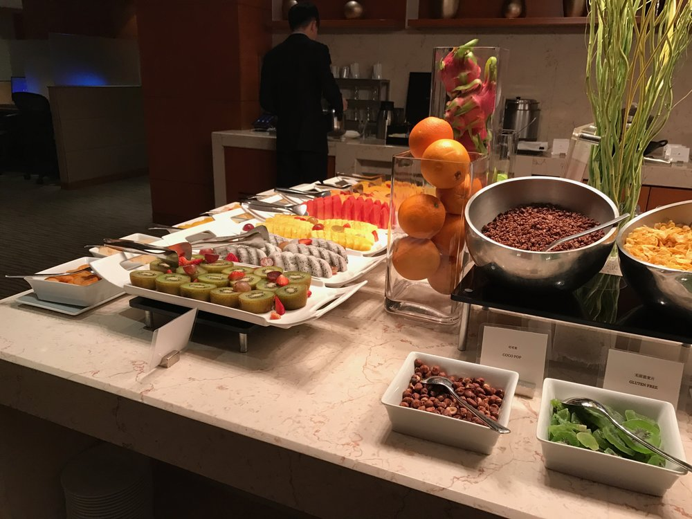 Executive Renewal Suite - Club lounge breakfast service