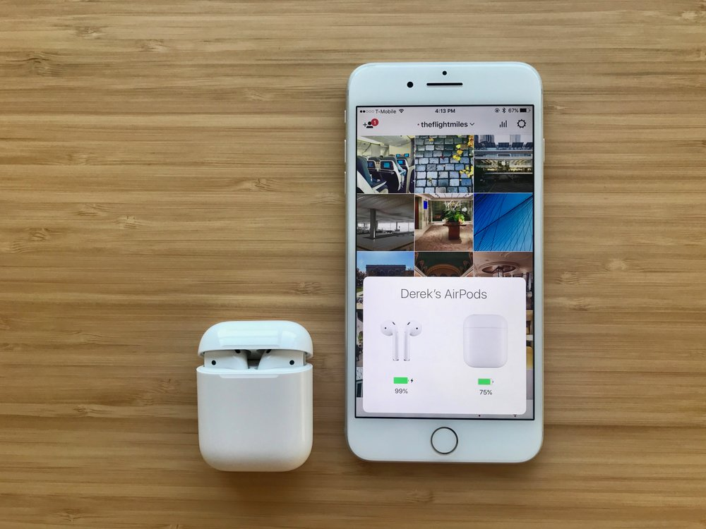 AirPods automatically pairing with iPhone
