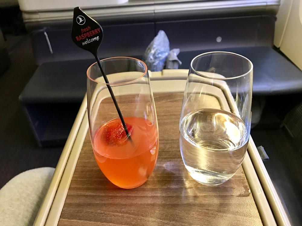 Pre-departure drinks