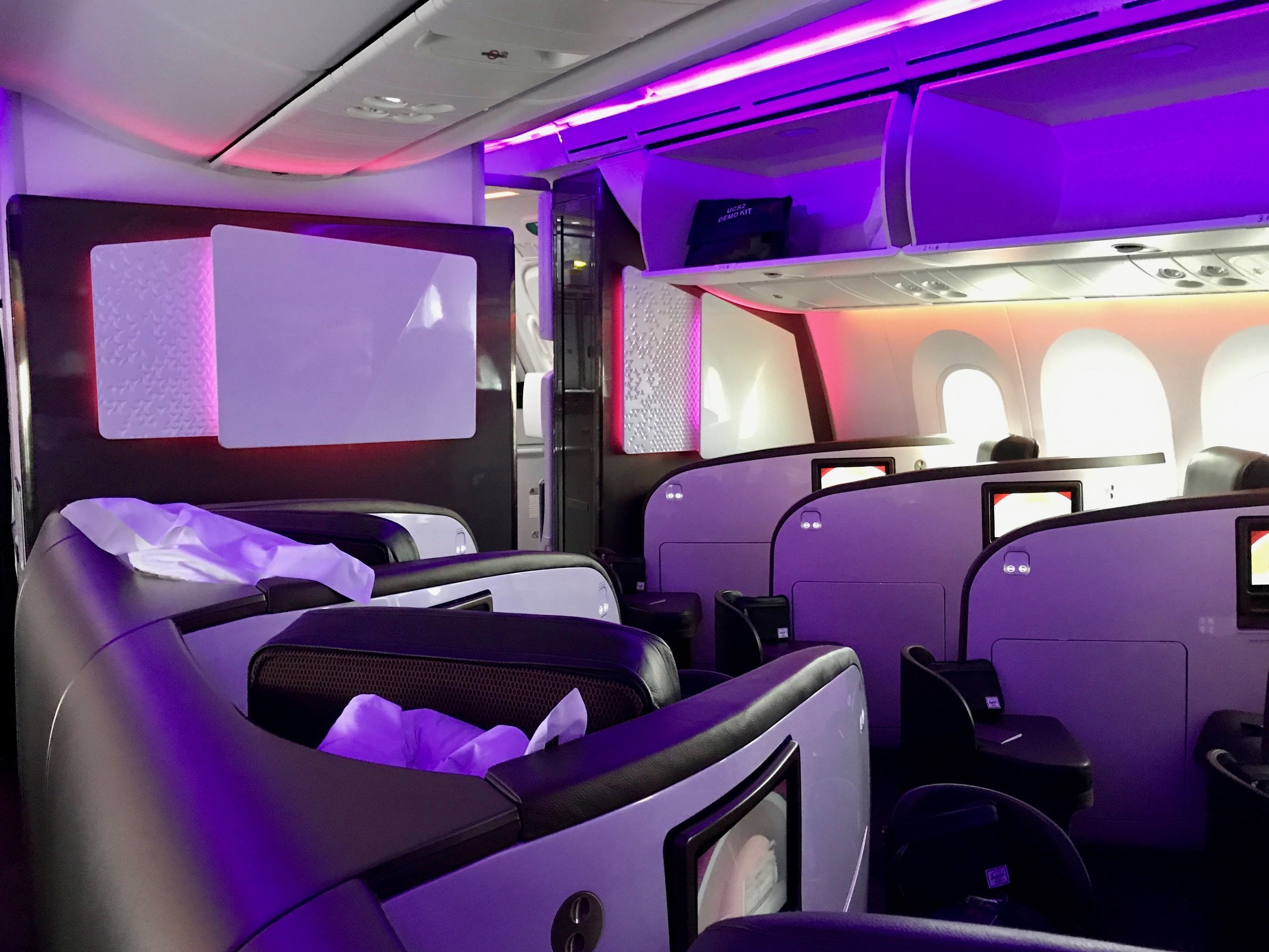 Review: Virgin Atlantic 787 Upper Class London to New York — The