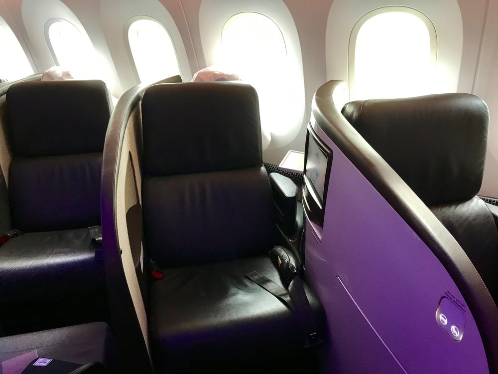 Virgin Atlantic Upper Class seat