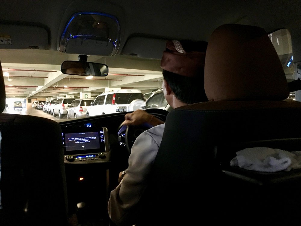 Viceroy private car driver