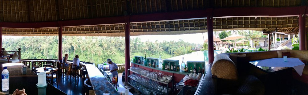 Bar at the Viceroy Bali Hotel in Ubud