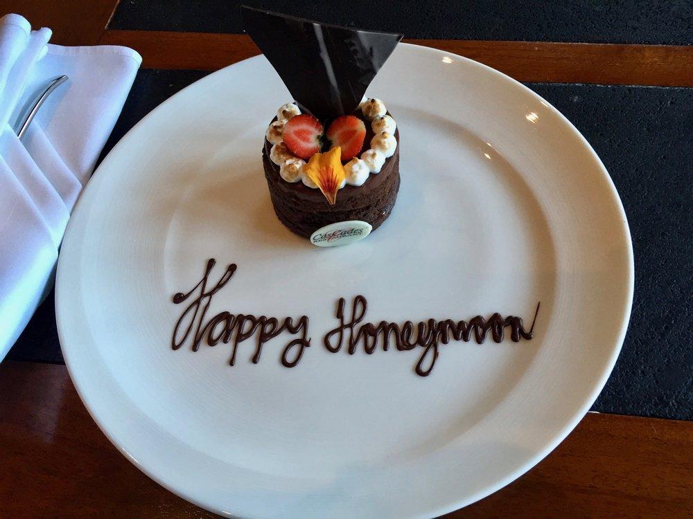 Honeymoon welcome gift
