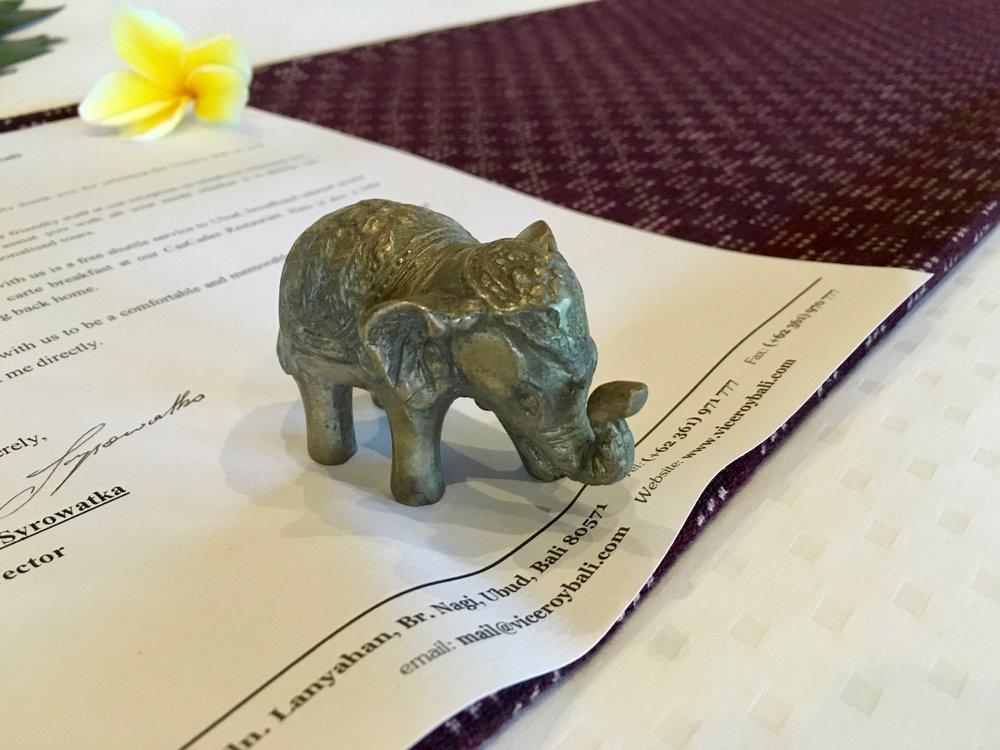 Souvenir Elephant
