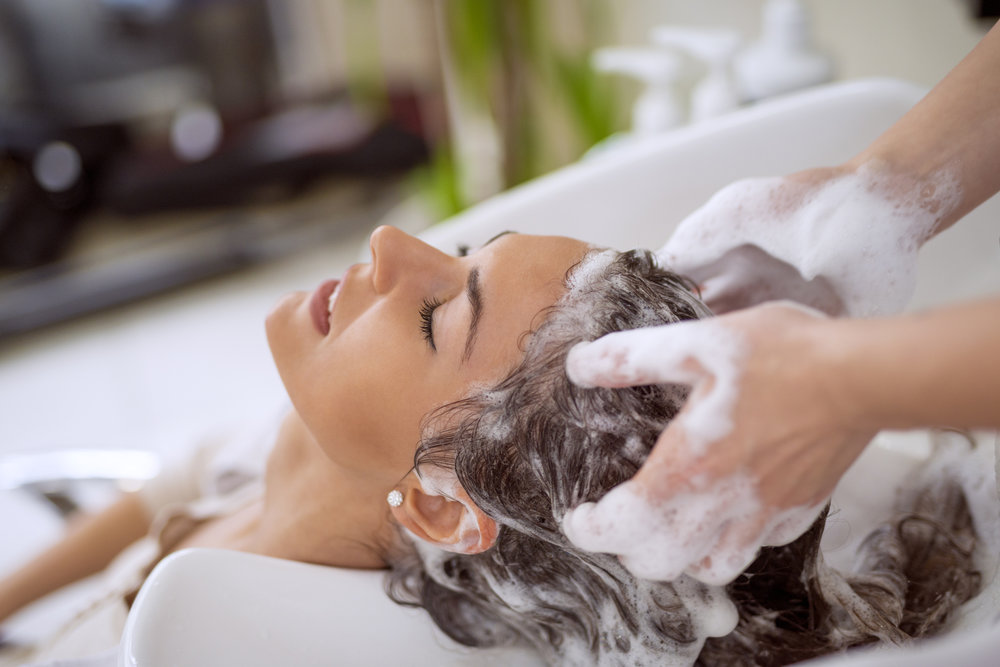 It all starts at the shampoo bowl -