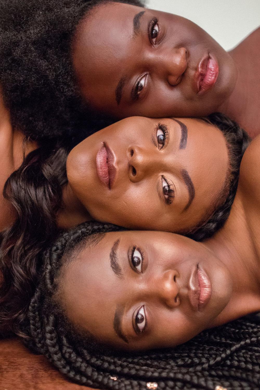 Natural hair styles - melanin popping