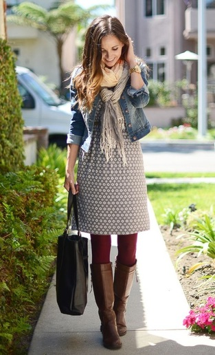 1e082d7ccd7c ... favorite summer clothes is to layer. Adding leggings underneath and a  jacket or scarf on top transforms and of my cute summer outfits to a winter  look.