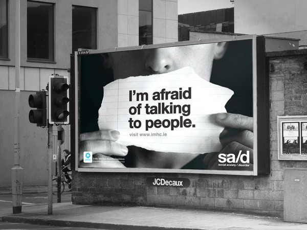 social anxiety advertising