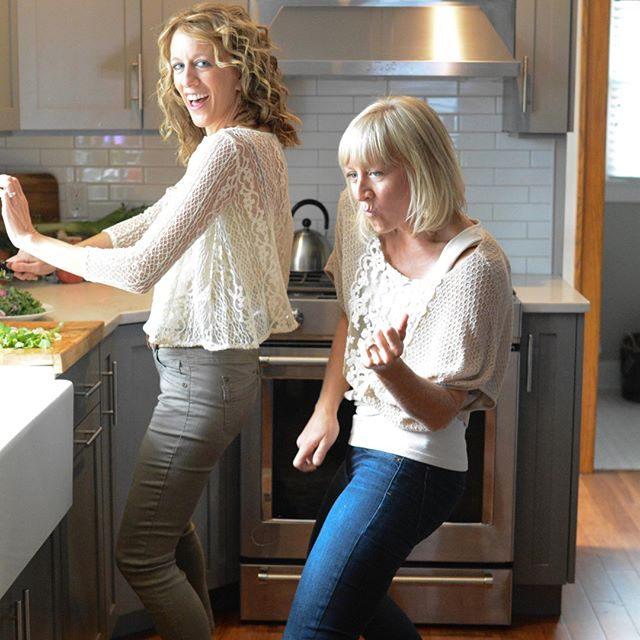 #tbt - a little dance sesh in Jill's kitchen a couple years ago. But if we're honest, today feels a little different . . . one of those tail-end of winter, grey rainy days in Michigan. Anyone else with us? ⠀⠀⠀⠀⠀⠀⠀⠀⠀ ⠀⠀⠀⠀⠀⠀⠀⠀⠀ Oh girl. We're holding on but it isn't pretty (and that's ok :) And we're craving some dance tunes with all the pick-me-up feels.⠀⠀⠀⠀⠀⠀⠀⠀⠀ ⠀⠀⠀⠀⠀⠀⠀⠀⠀ Help us out!  Share your go-to dance song . . .⠀⠀⠀⠀⠀⠀⠀⠀⠀ ⠀⠀⠀⠀⠀⠀⠀⠀⠀ And while you're at it, tag your favorite dance partner(s)! ⠀⠀⠀⠀⠀⠀⠀⠀⠀ ⠀⠀⠀⠀⠀⠀⠀⠀⠀ #nourishtoflourishsociety #danceitout #getyourgrooveon #soulfood #dancelikenobodyiswatching #pickmeupsong #springfever