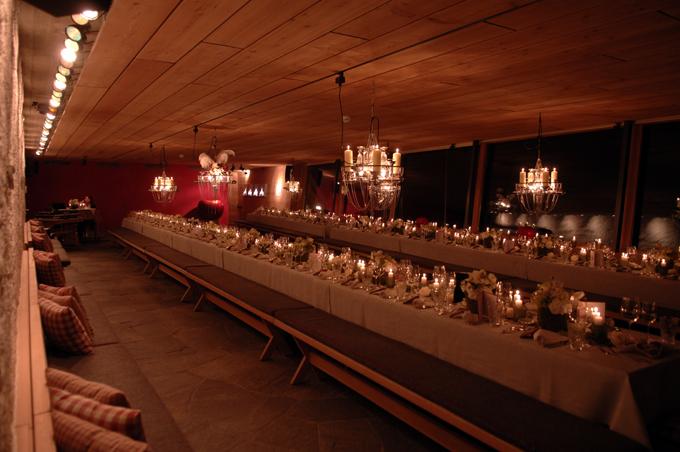 Clubrestaurant aus der anderen Blickrichtung