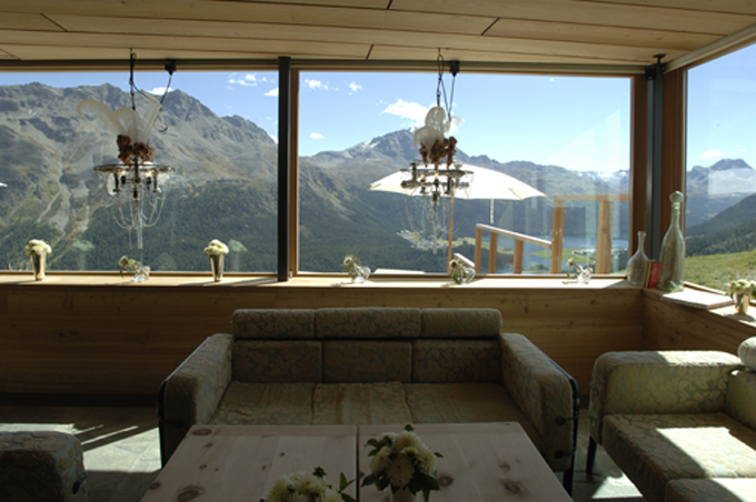 "Die Heavens Lounge im Sommer ""The View"""