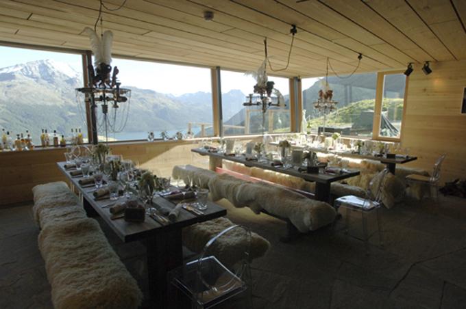 Die Heavens Lounge für 30 Gäste