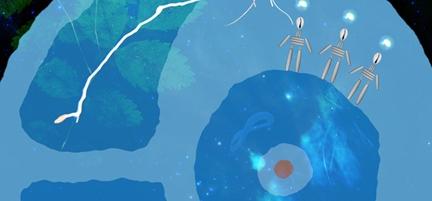 """Image close up of """"Growth"""" by Elizabeth LaPensée"""