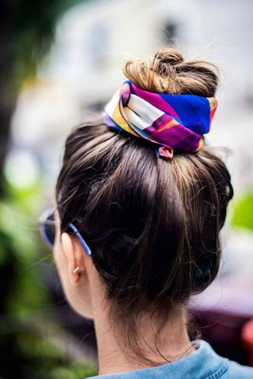 Top knot turned up a notch.