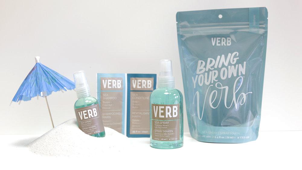 Bring Your Own Verb Sea Spray