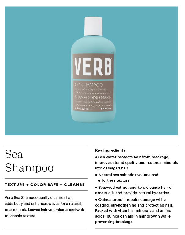 Sea Texture Shampoo