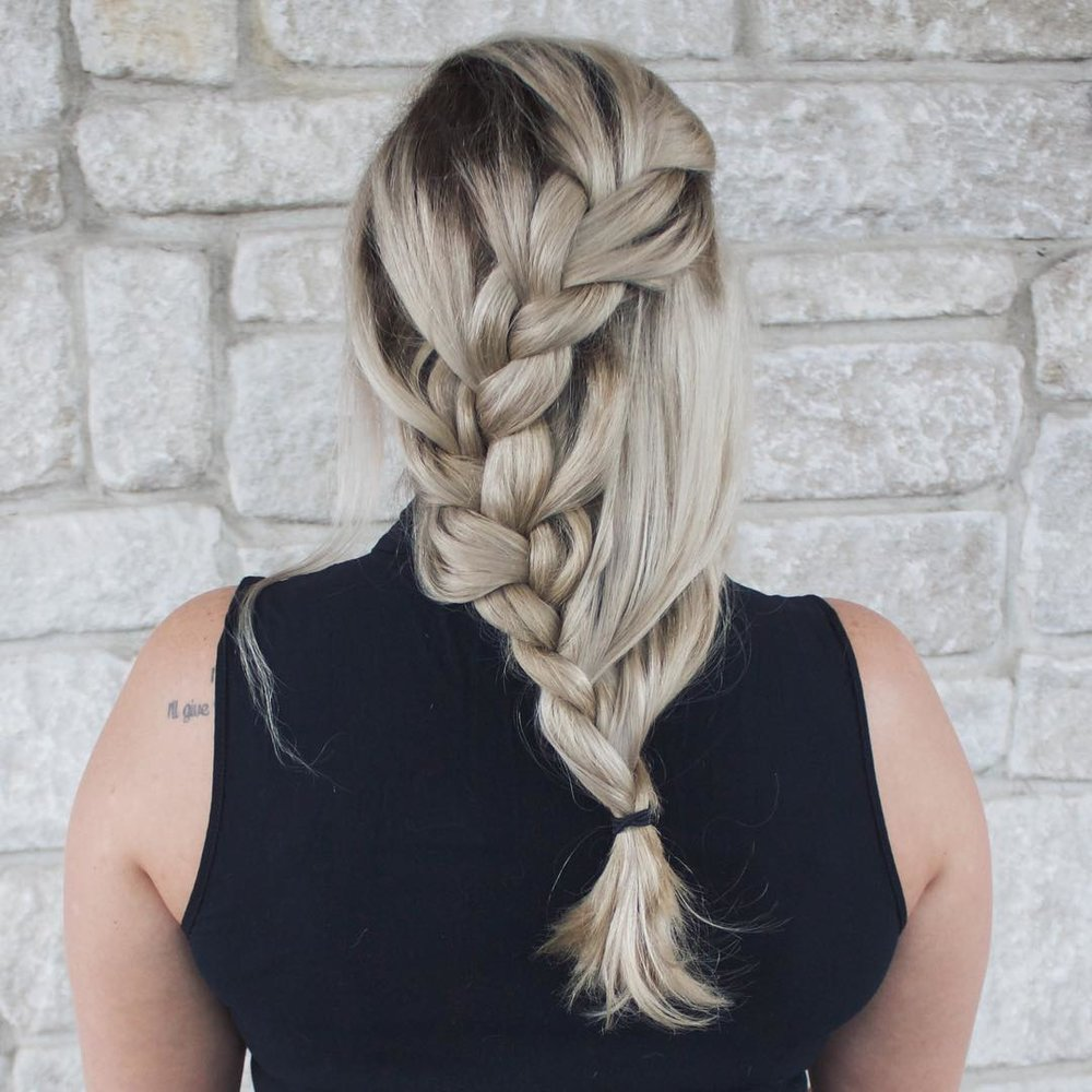 Interesting Braid Hairstyle