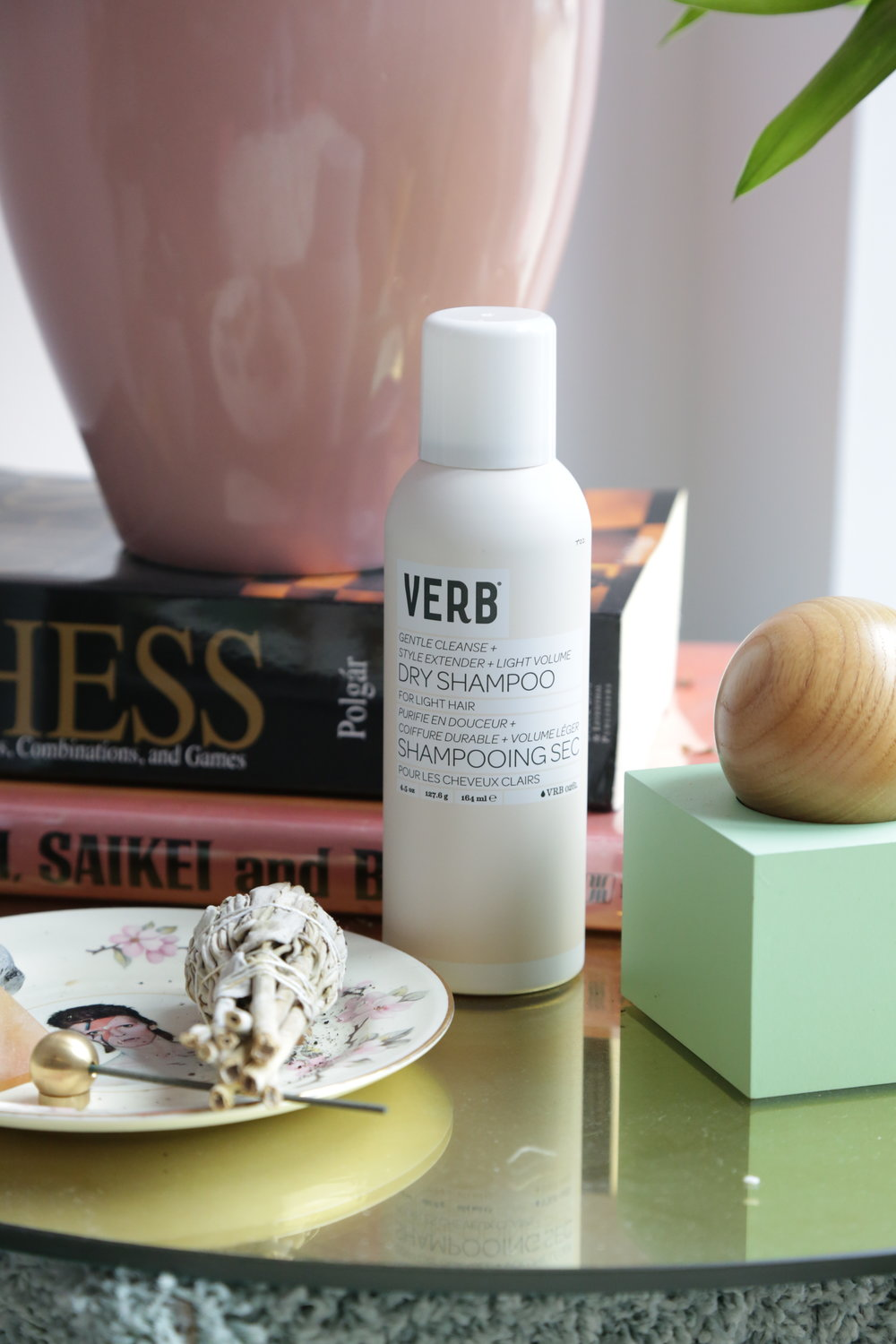 I'm huge supporter of Dry Shampoo. I only like to wash my hair every 2-3 days, so the Verb Dry Shampoo is truly my best friend. My boyfriend also likes to steal it! -