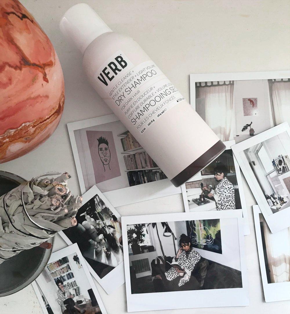 verb dry shampoo dark