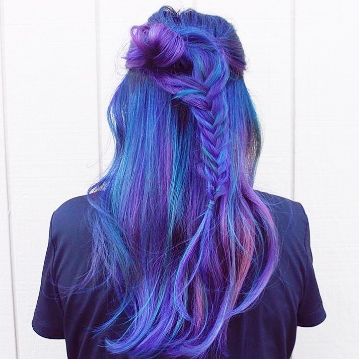 Now Trending Colorful Hair Verb
