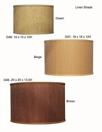 Linen Cylinder Shades