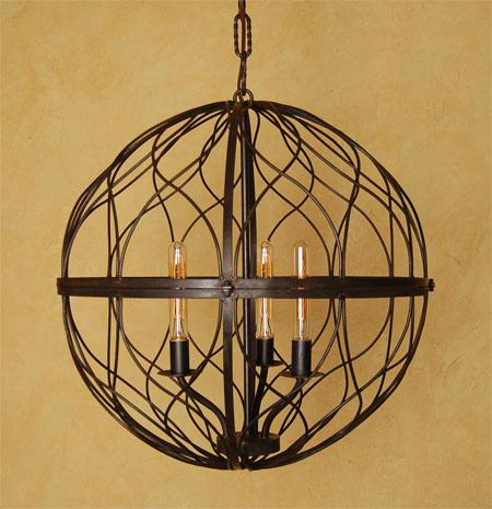 c142 sphere chandelier large - Sphere Chandelier