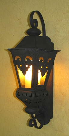 Large Morocco Lantern with Resin Hollowed Candles — Laura Lee Designs