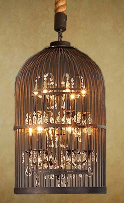 Showroom samples laura lee designs bird cage chandelier h 36 w 21g aloadofball Choice Image