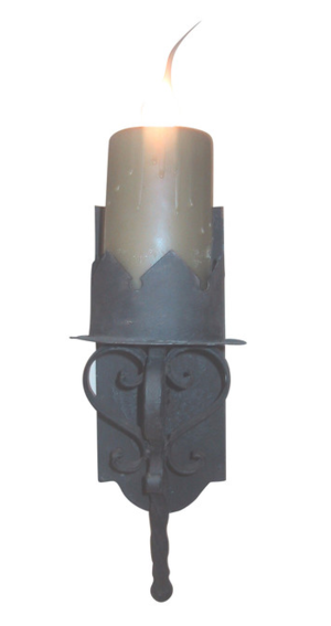 gothic wall sconce medieval s11a gothic electrified wall sconcepng sconces laura lee designs